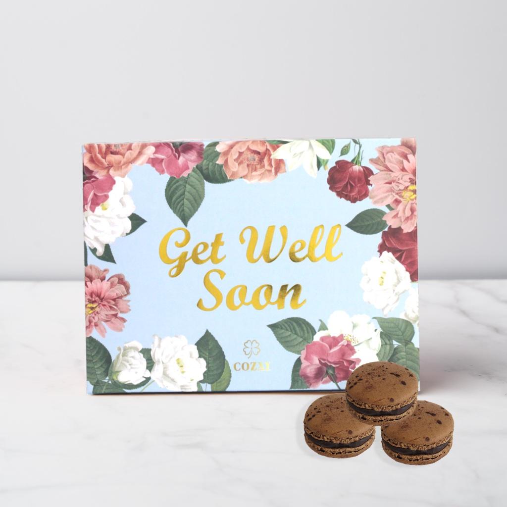 Get Well Soon เวเนซุเอลาช็อกโกแลต มาการอง 10 ชิ้น