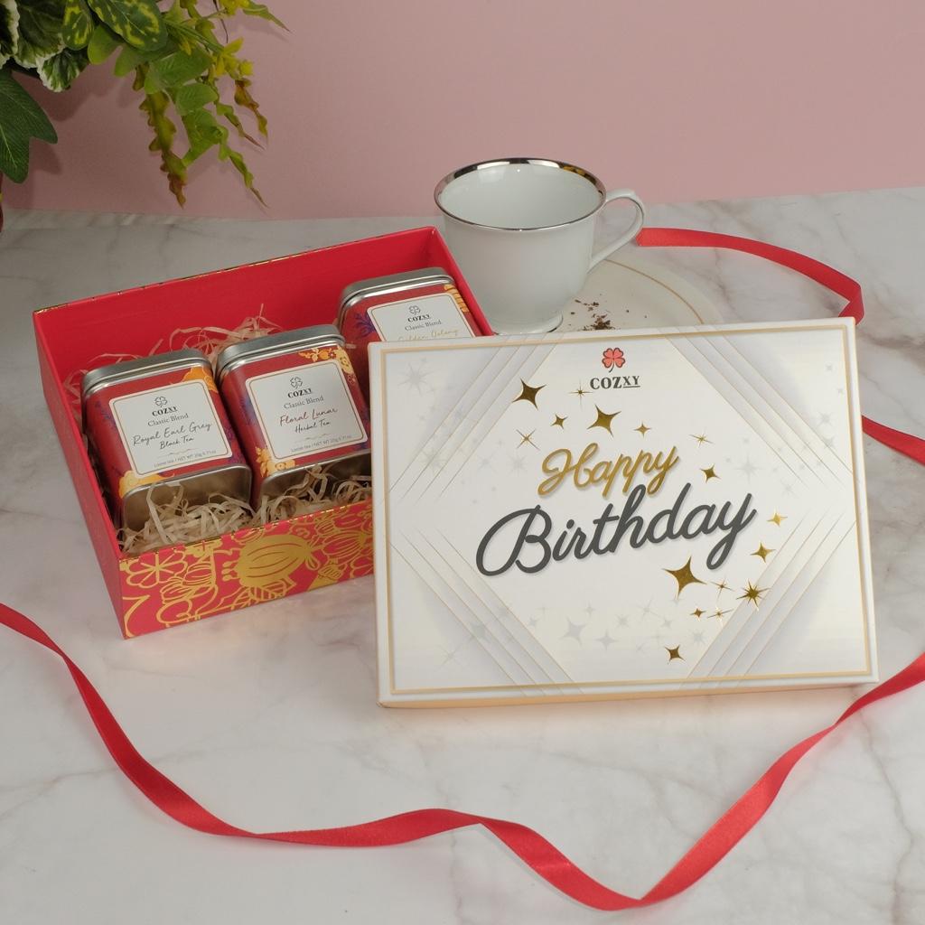 Happy Birthday ชาโกลด์เด้นอู่หลง