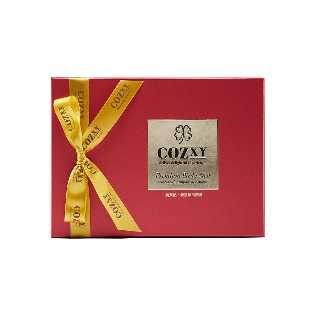 กล่องของขวัญ รังนกแท้พรีเมี่ยม 8 ขวด สูตร หวานน้อย