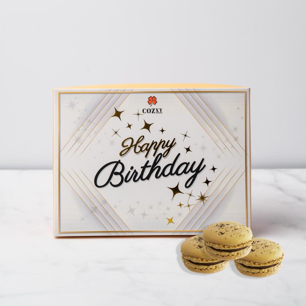 Happy Birthday เอิร์ลเกรย์ มาการอง 10 ชิ้น