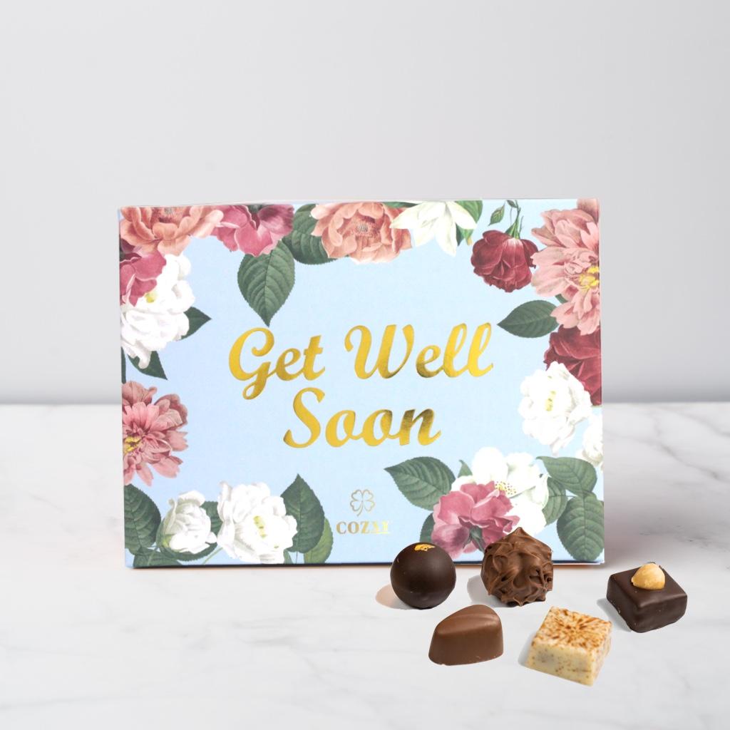 Get Well Soon ช็อกโกแลต 12 ชิ้น